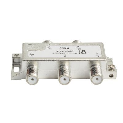 SCS-4  4-way splitter, 2.4GHz